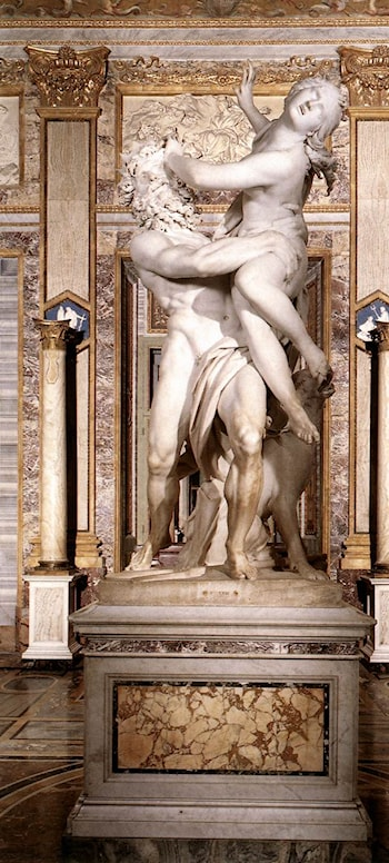 The Rape of Proserpine by Gian Lorenzo Bernini